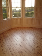 I am absolutely delighted with the floor and have recommended you to friends and neighbours. - Wini Wood - Floor renovated by Annfield Flooring Services June 2009
